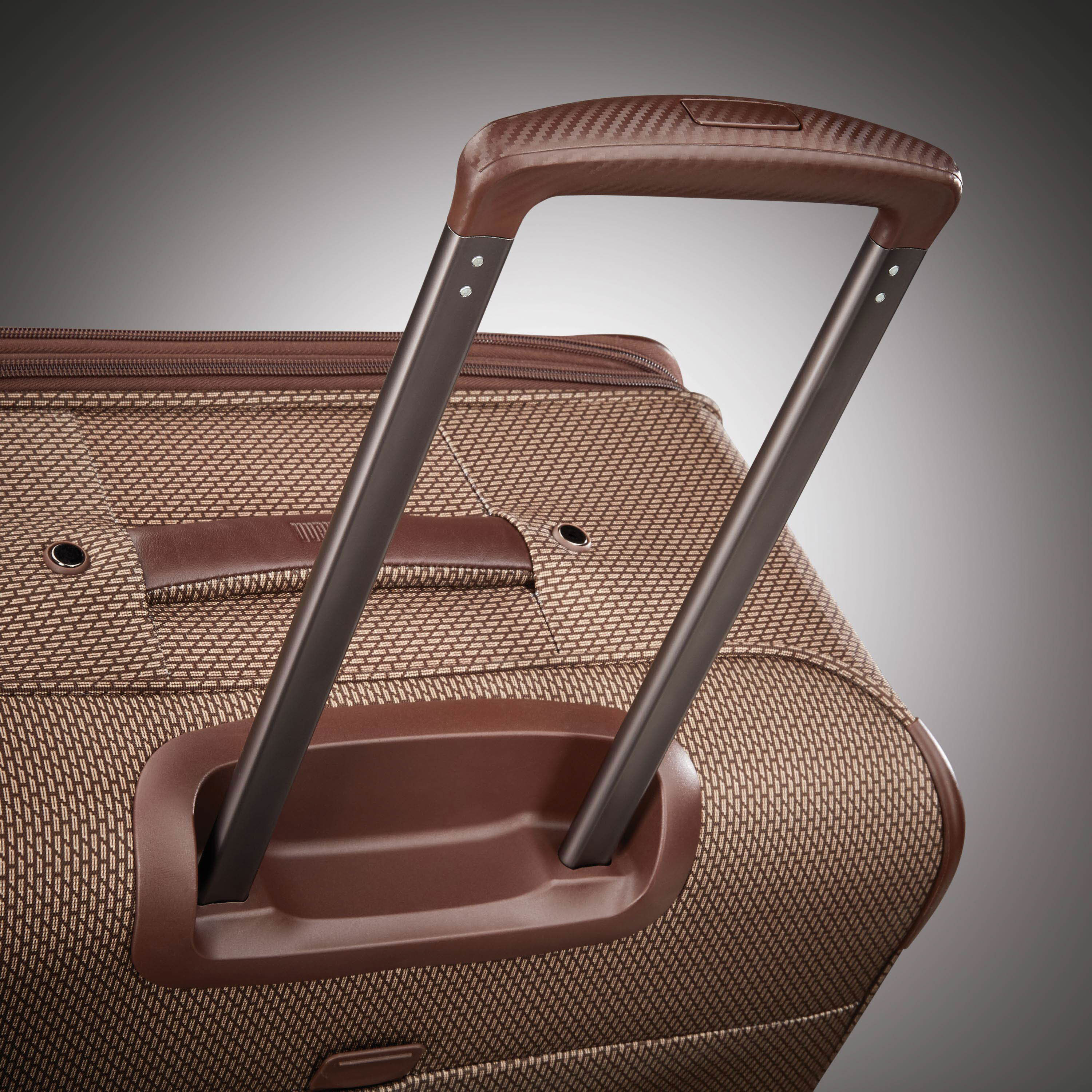 1e9b1c7bbf Hartmann Century Global Carry On Expandable Spinner in the color Mocha  Monogram.