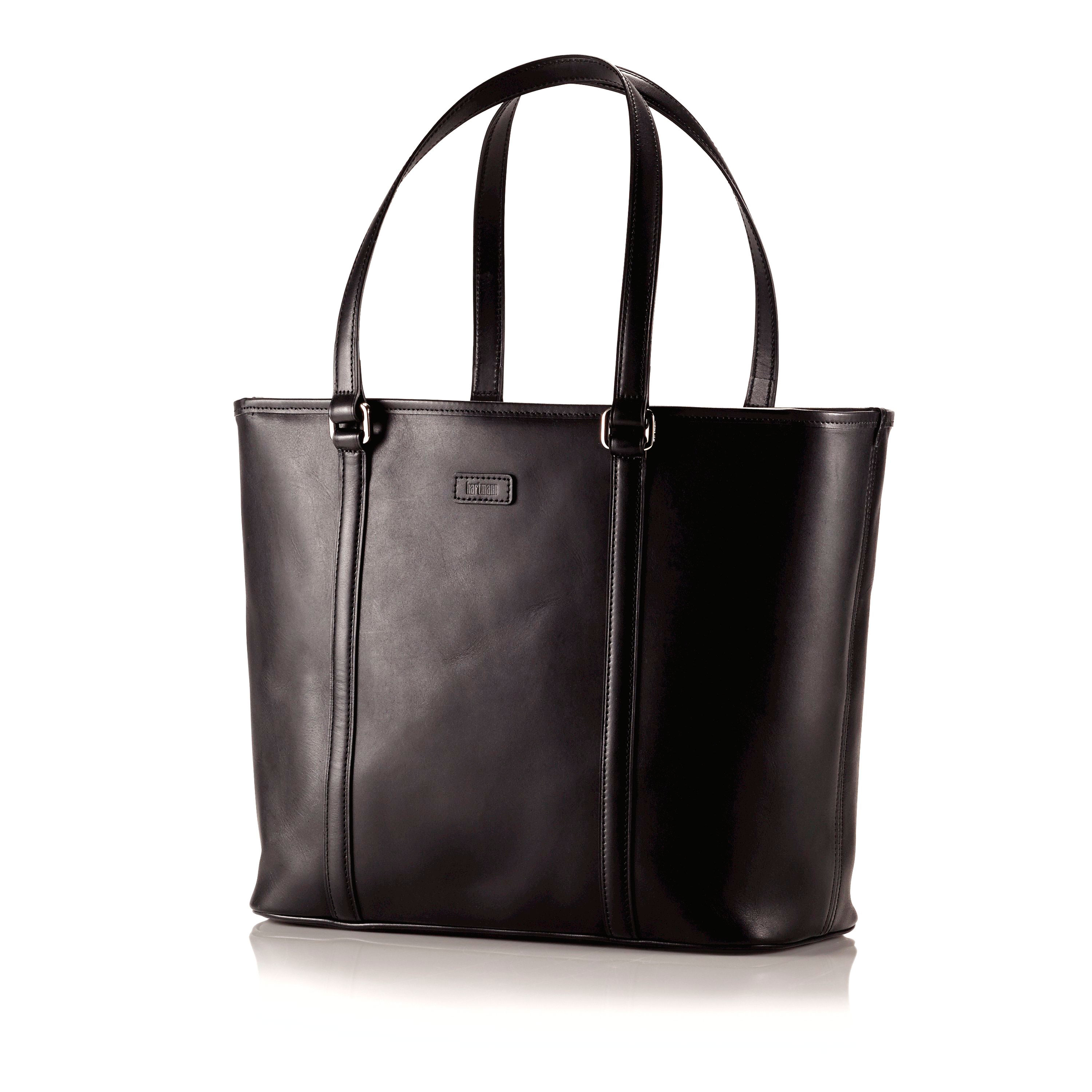 Hartmann Heritage Zippered Tote in the color Heritage Black. eb2d7f331f2c7