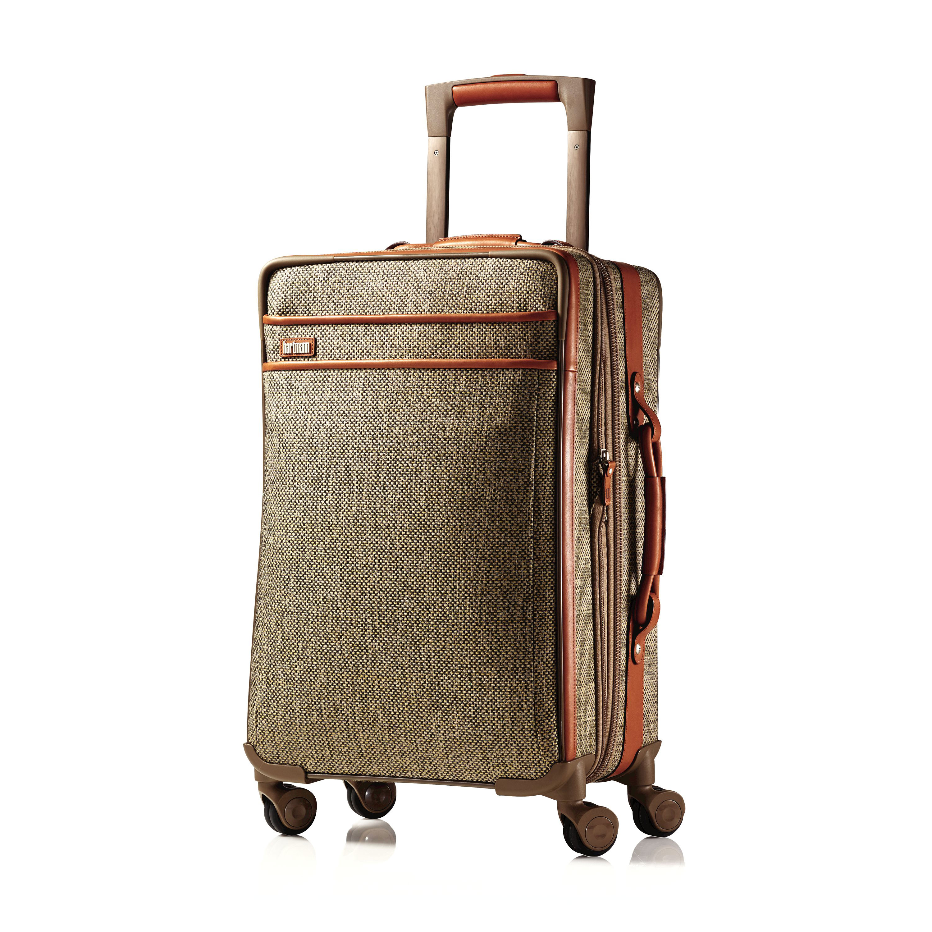 Hartmann Tweed Carry On Expandable Spinner In The Color Natural