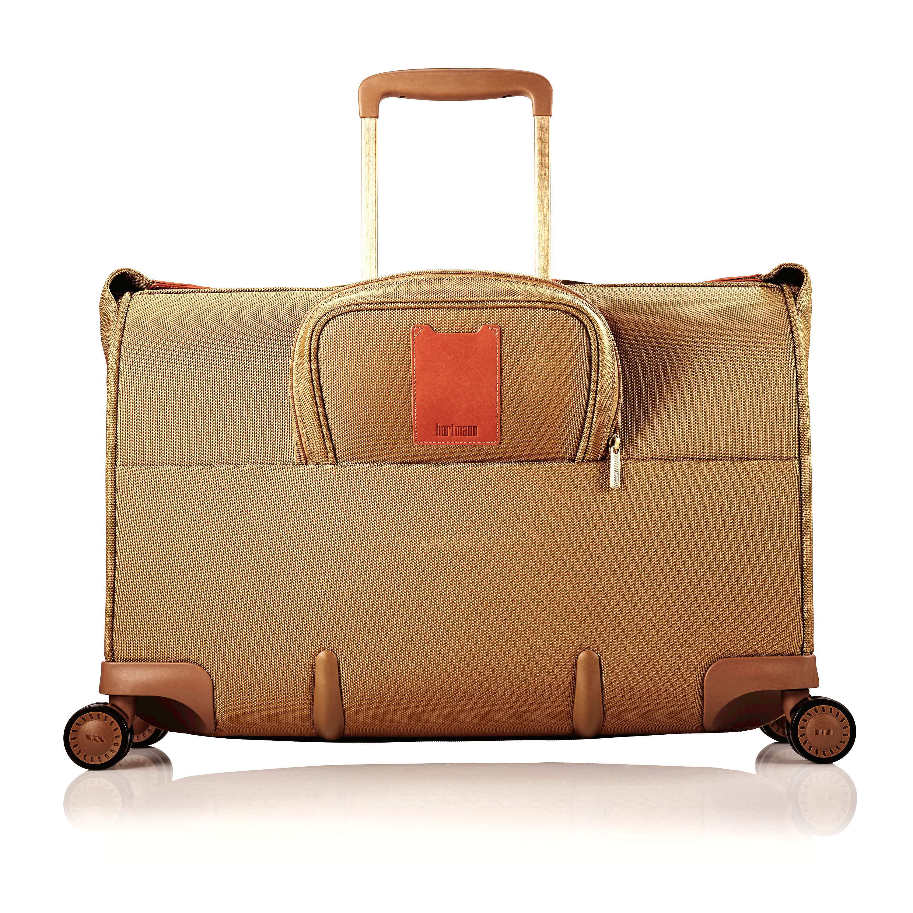 Hartmann Ratio Classic Deluxe Carry On Glider Garment Bag In The Color Safari