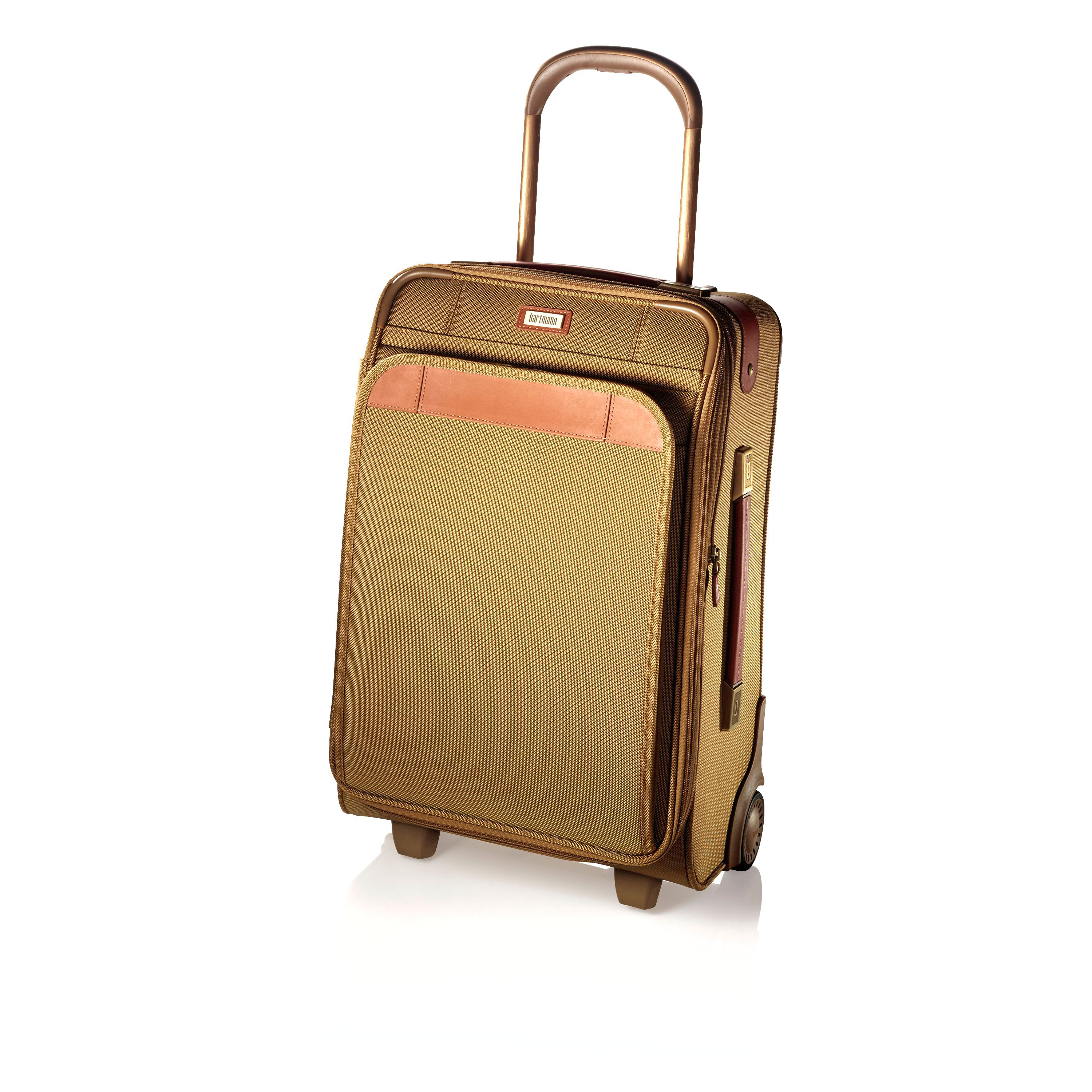 8c29a11462 Hartmann Ratio Classic Deluxe Global Carry On Upright in the color Safari.