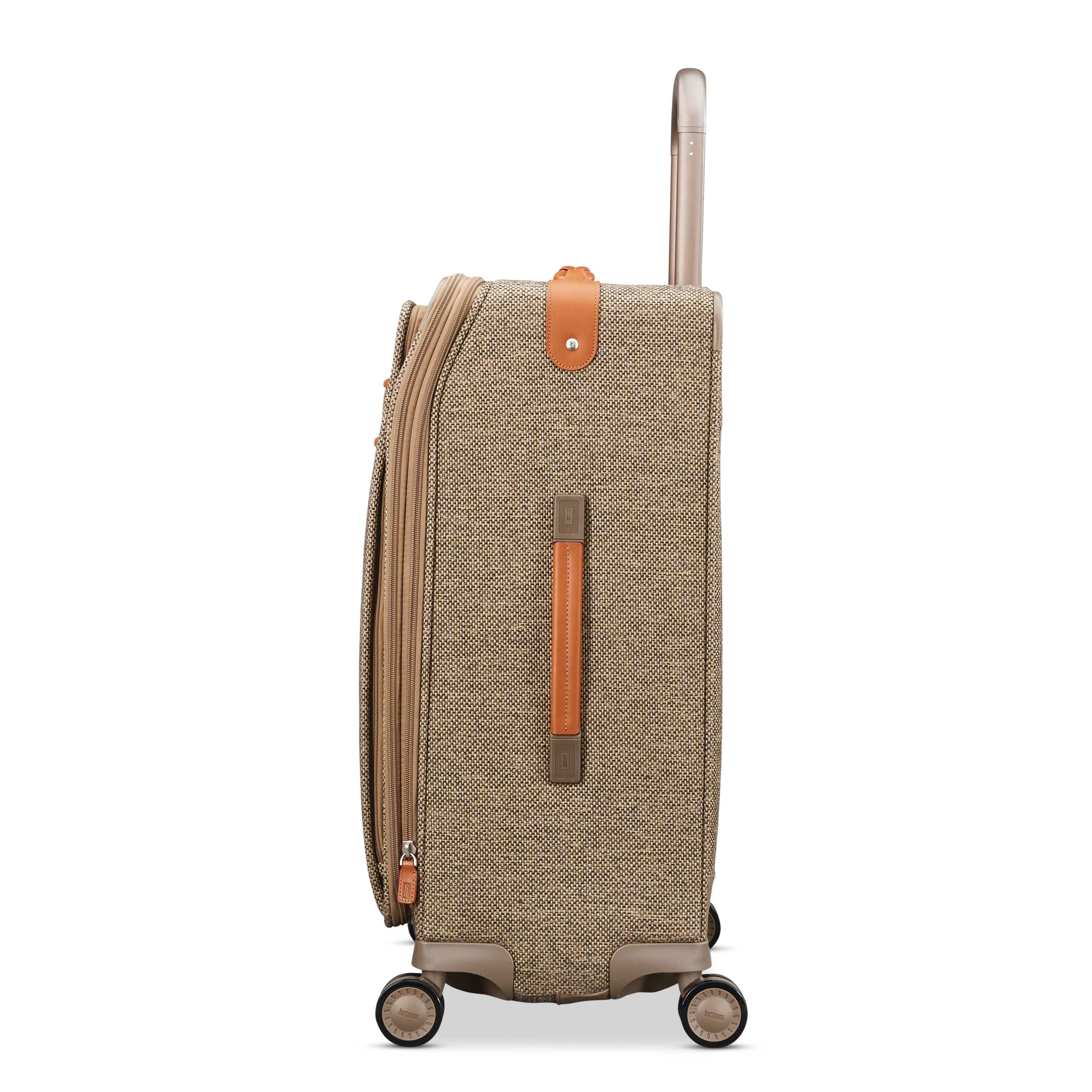463c2b2c15 Hartmann Tweed Legend Medium Journey Expandable Spinner in the color  Natural Tweed.