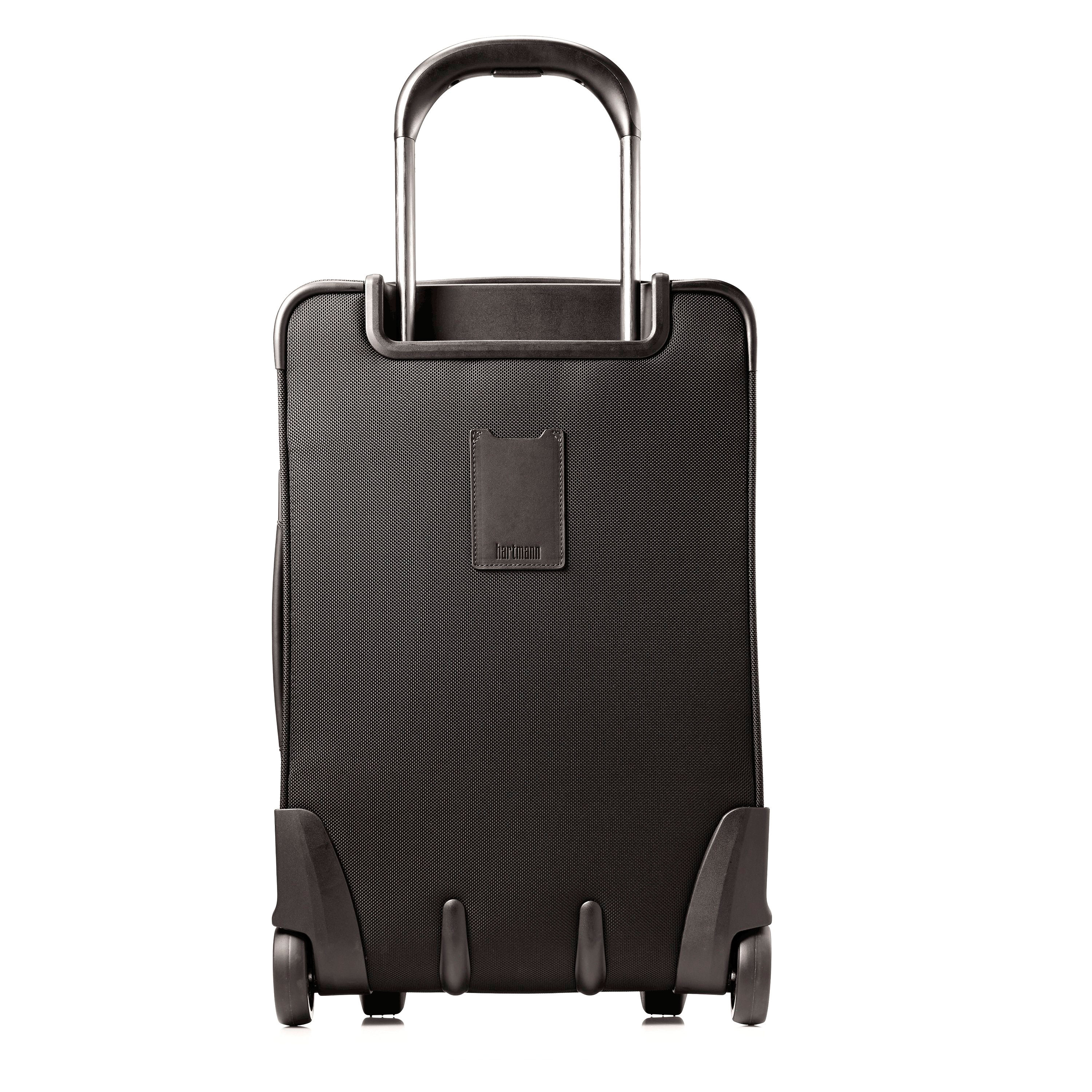 Hartmann Ratio Global Carry On Upright in the color True Black. fa785ba389f92
