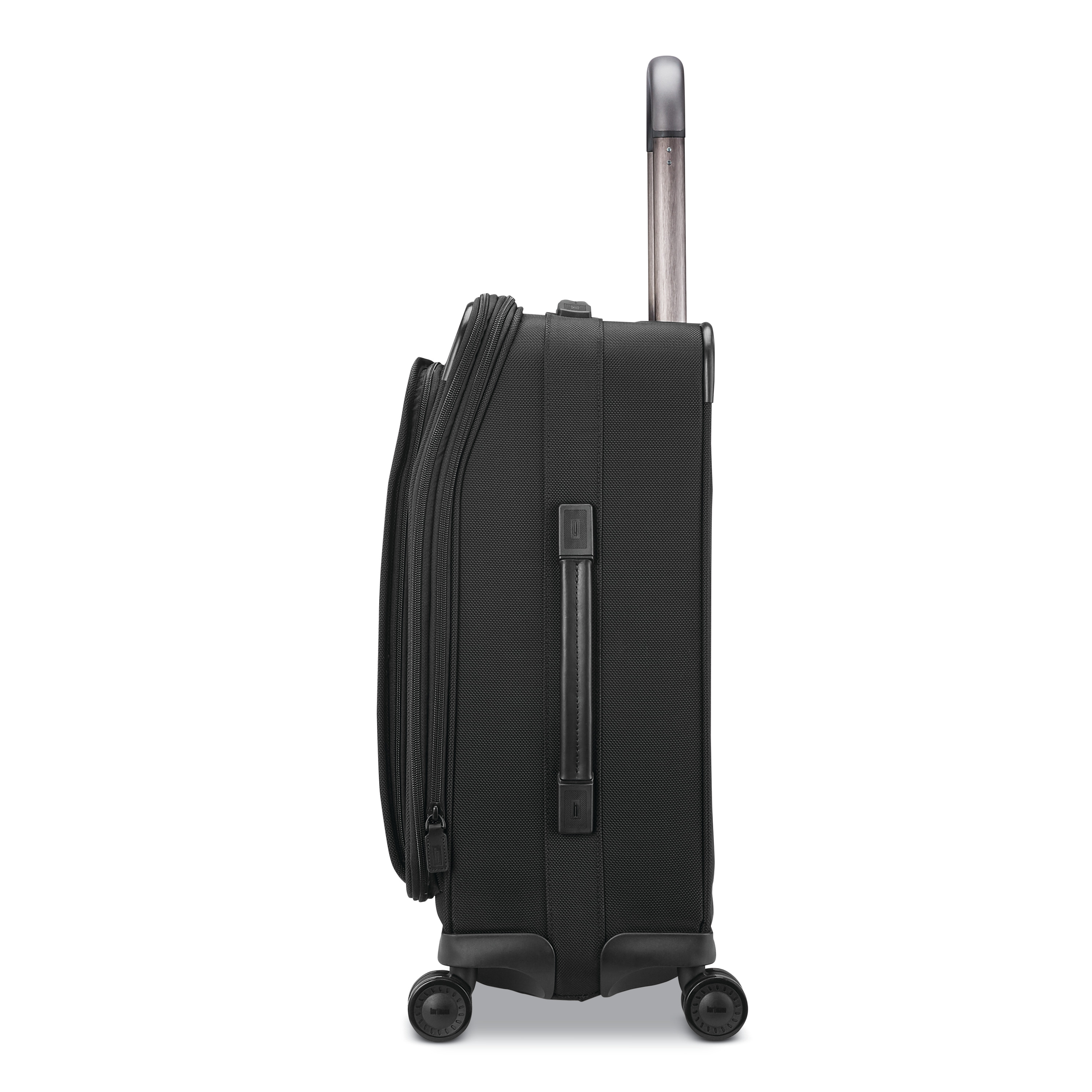 0d37ff68c0c1d Hartmann Ratio 2 Domestic Carry-On Spinner in the color True Black.