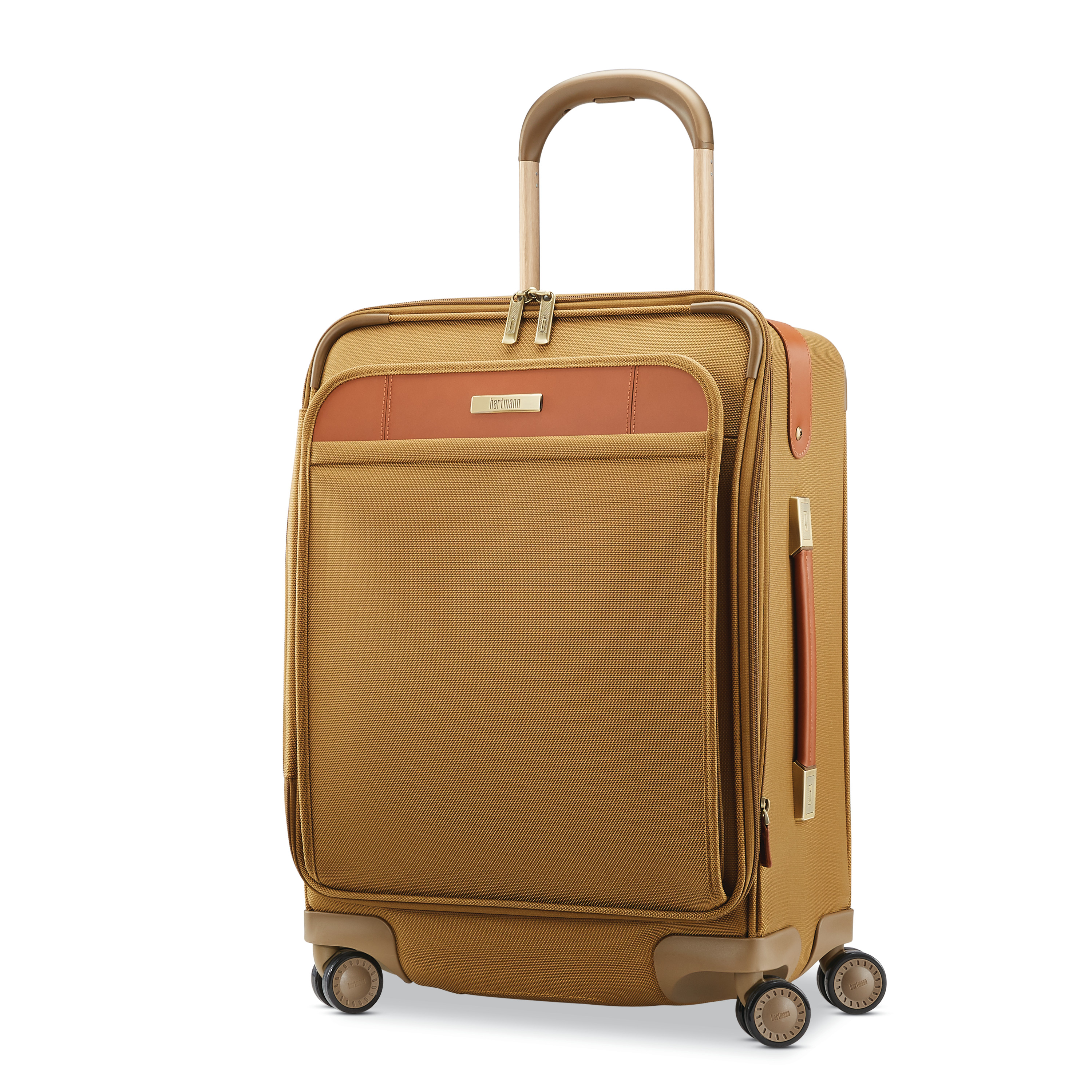 ca53e0d5d0f67 Hartmann Ratio Classic Deluxe 2 Domestic Carry-On Spinner in the color  Safari.